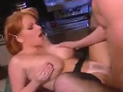 Redhead MILF Fucked At Home Classic
