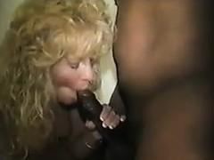 Horny Wife Enjoying A Creampie Cuckold