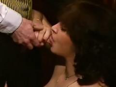 Cathy Menard, Helene Shirley, Mascha Mouton in classic fuck