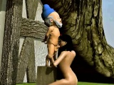 3D Snow White sucks cock and gets fucked by a dwarf