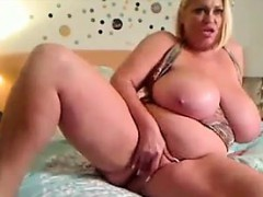 Large Blonde Slut With Large Breasts