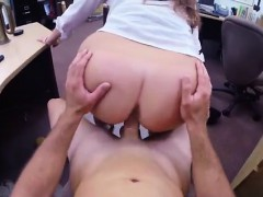 Blowjob to pay bill PawnShop Confession!