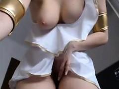 Cam Slut Teasing Her Pussy