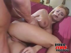 Big breasted blonde milf Faith Grant getting anally humped