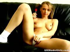 Amazing amateur British schoolgirl Britney