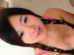 Gorgeous Teen GF gets Mouthful