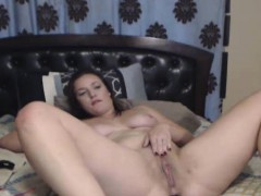 Charming Busty Babe Gets Fucked With Her Dildo
