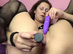 Trisha Delight Fucks Her Twat With Two Toys