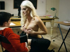 Hot Teacher Blanche Bradburry Has Oral Sex With Student