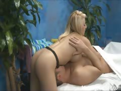Hot 18 year old Madison Ivy gives MORE than just a massage.