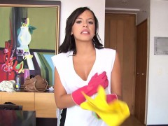 Operacion Limpieza - Hot Sex With Colombian Cleaning Lady