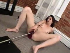 Hairy amateur redhead and brunette lick pussies till orgasm