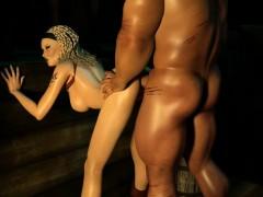 Sexy 3d Cartoon Lara Croft Getting Fucked Hard