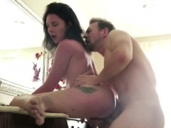 Step Sister Izzy Gives Head To Big Cock And Pounds