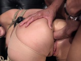 Gorgeous submissive slut assfucked roughly