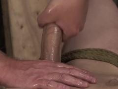 Master Sebastian Kane jerking off Kit Wilde big long cock