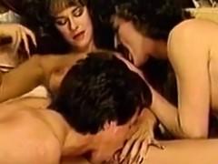 Amazing Ffm Classic Threesome