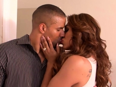 Busty Latina Shemales Banged A Black Guy In A Threesome