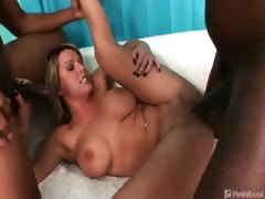 Megan Monroe is getting a mouthful today! Sinfully