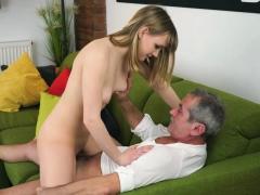 Grandpa Licks And Fucks A Blonde Hungarian Teen Hottie