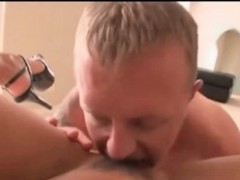 Beautiful milf tit and pussy fucks cock