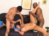 Double Penetrated MILF In A Threesome