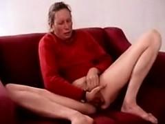 Mature Woman Masturbating And Squirting