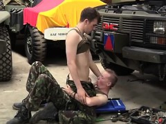 Gay guys getting jacked off and rimmed Uniform Twinks Love C