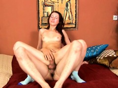 Juicy girl gets astonished of amazing ass drilling session