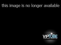 Blonde in lingerie eating fat black cock in POV