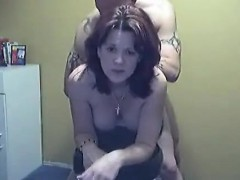 Inked player gets to slide it up this sexy chick's inviting