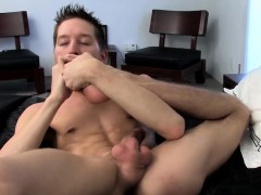 Ryan Connors loves nothing more than playing with his feet