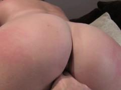 Fake agent spanking and fucking blonde
