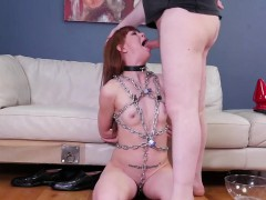 Big tit slave bondage public first time Slavemouth Alexa