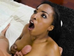 Ebony Hottie Daya Knight Experiences Plumbers Cock