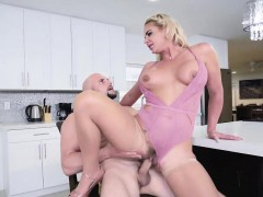 Hot housewife Phoenix Marie fucking with her pervert husband