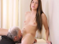 Fervid bookworm was seduced and pounded by her older teacher