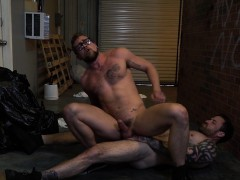 Jay Austin and sexy Jordan Levine ass ramming and blowing