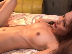 Oriental sweetheart and her lover make love passionately