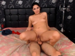 Romanian Babe Gets Her Camel Toe Fuck By Her BF