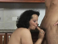 BBW mom gets fucked quite hard