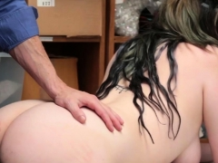Thick Teen Cutie Stuffed In Doggy As A Hot Bribe