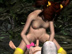 Girl Fucking The Leader Of A Forest Tribe