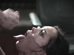 Alina Lopez deep throat blowjob Tommy Pistols cock