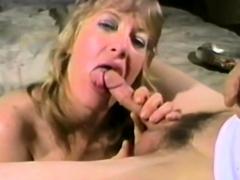 Doe Eyed Blonde Gets On Her Knees To Suck Dick - Doe Eyed