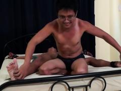 Asian Boy Javey Tickled Silly By Ricky