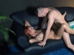 Redhead Who Likes Fingering Does Professional Blowjob