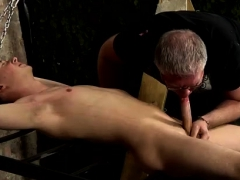 Cowboys And Bondage Gay First Time Draining A Boy Of His