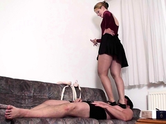 Fetish Femdom Girls Trample Slaves