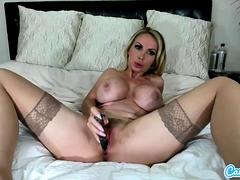 CamSoda - Nikki Benz toys for cam